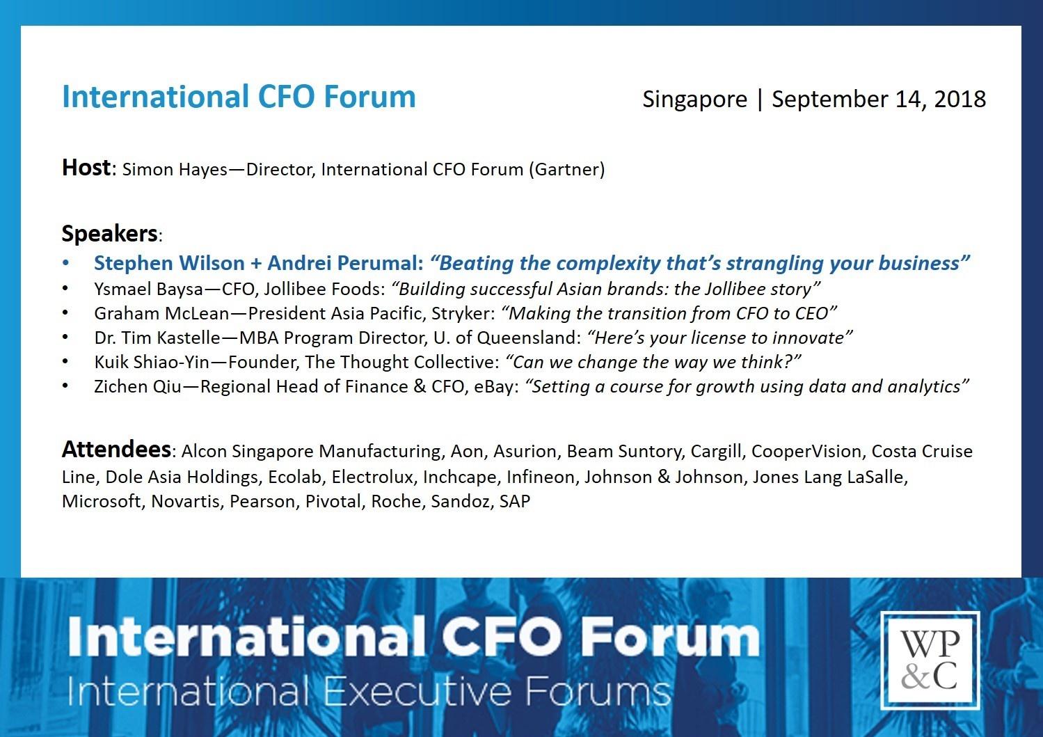 180913 - SWAP at International CFO Forum (2)