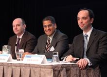 Stephen Wilson and Andrei Perumal presenting at CFO forum