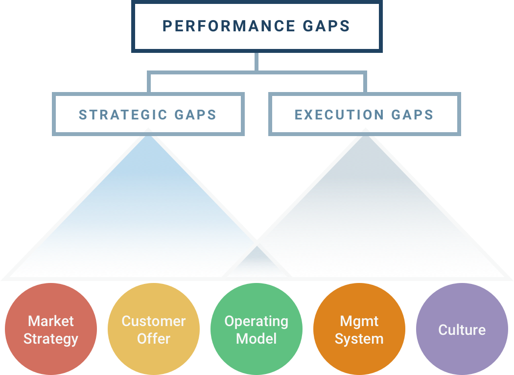 Performance Gaps Infographic